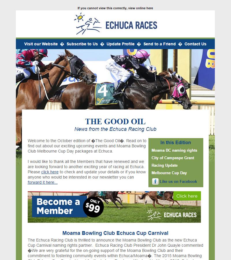 Echuca Races