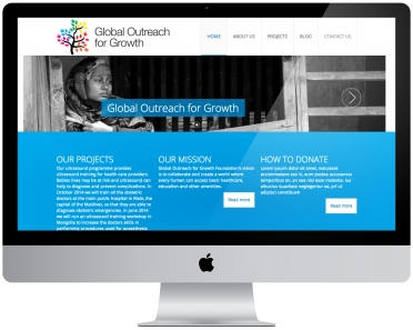 Woocom adds a Charity Website to our ever growing Portfolio