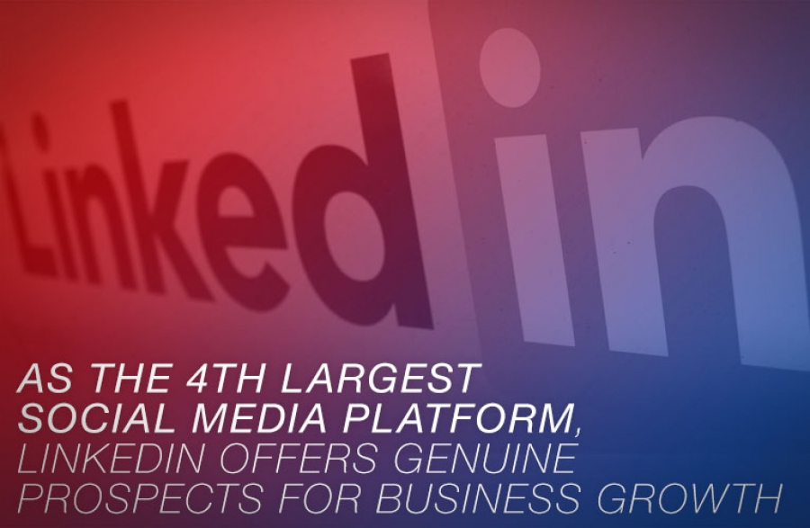 LinkedIn offers genuine prospects for business growth