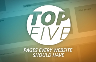 Top 5 pages every website should have