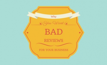 Why You Want Bad Reviews