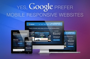 Yes, Google prefer mobile responsive websites