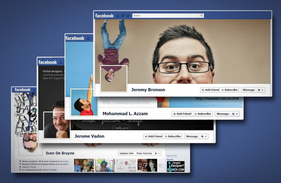 10 Creative Facebook Timeline Covers